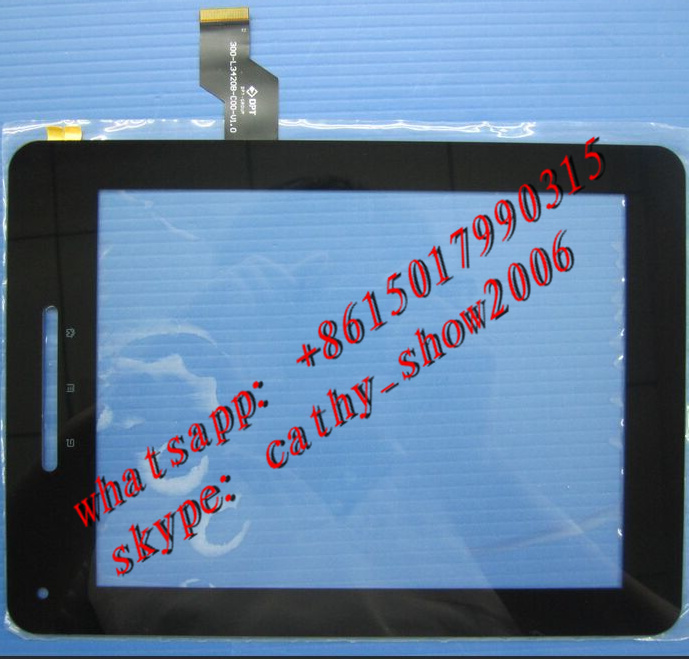 8 inch VI30 Deluxe Edition Original Touchscreen models: 300-L3420B-C00-V1.0 external screen