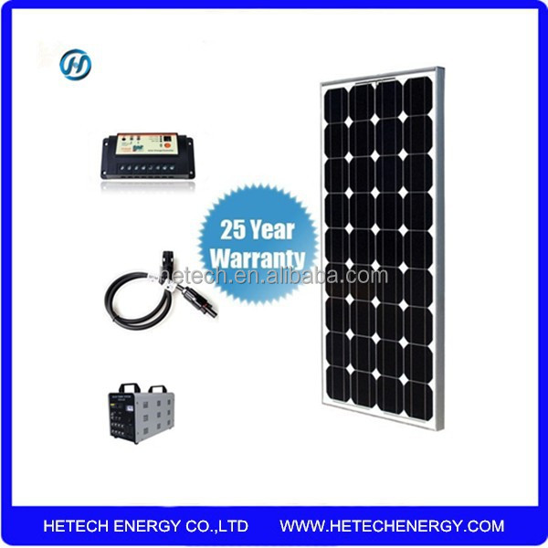 80w solar system for home appliances from China Manufacturer