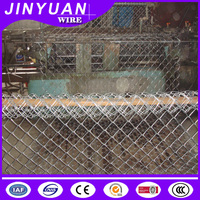 2016 hot sale galvanized heavy chain link fence/used chain link fence for sale/galvanized chain link fence