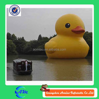 giant customized animal inflatable promotion duck for advertising