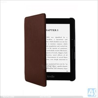 Kindle voyage smart cover, Slim Leather Book smart cover for Amazon Kindle voyage 2014