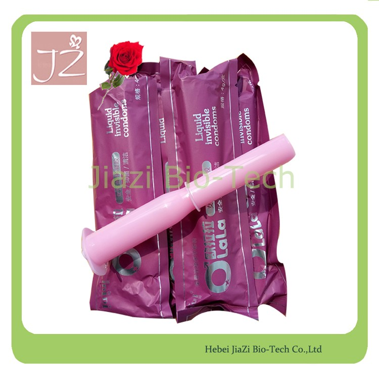 2016 new sex product free sample female liquid condom ladies invisible condom
