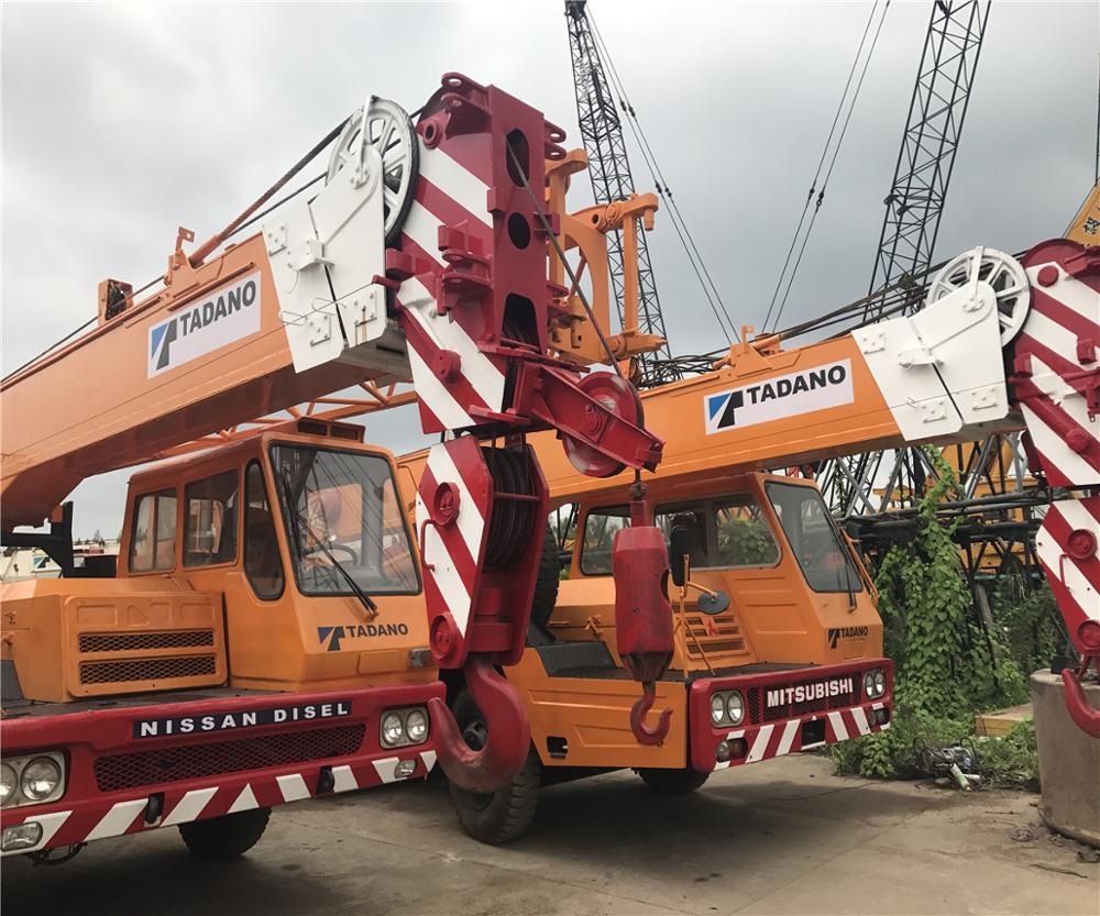 New arrival Tadano AR-2500M 250T all terrain crane with 5 booms used tadano AR2500M 250T AR2000M AR1600M TG1200E Crane for sale