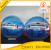 Costomized water walking ball , giant ball inflatable water , water t ball toys