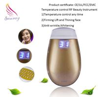 Deep Cleansing home use skin rejuvenation mini rf led photon microcurrent beauty machine/device mini machine rf facial