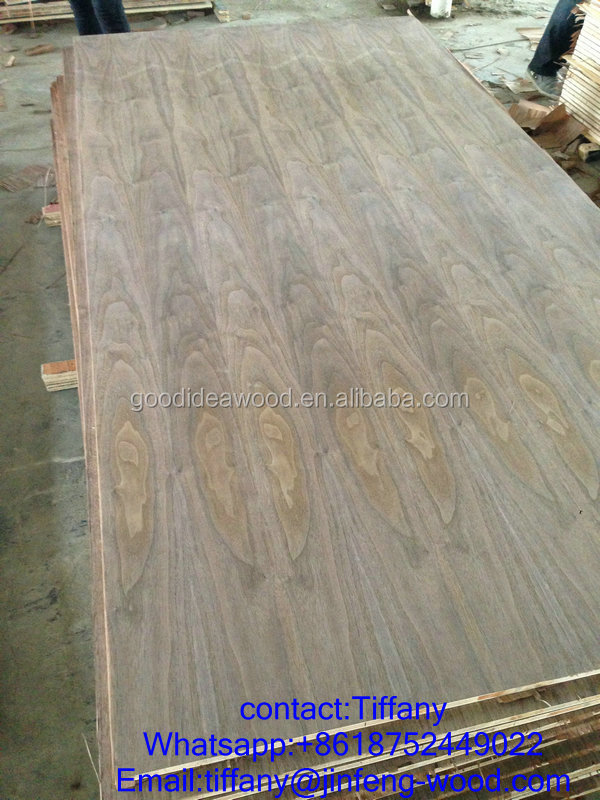 2015 NEW SELL furniture used board nature walnut veneer block board (FALCATA CORE)