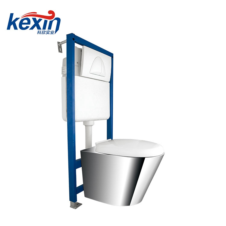 Two Piece Wall Hung Toilet