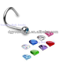 16 gauge nose rings nose stud india