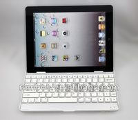 For iPad 2 3 4 Stand Keyboard Wireless Aluminum Case Bluetooth Keyboard