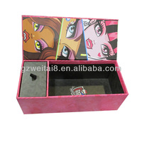 white gifts boxes make up tools box cosmetic tools packing box