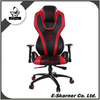 E-Skarner Ergonomic Cool Gaming Chair with Car Seat Leather
