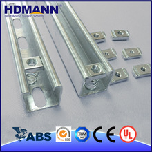 Strong Construction Material Unistrut Hot Dipped Galvanized C Channel Bracket