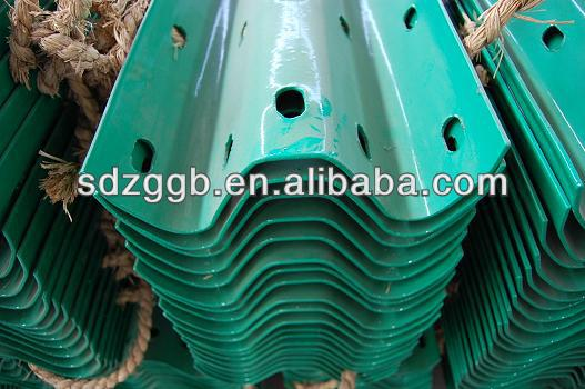 2016 galvanized guardrail used for highway/road in competitive price