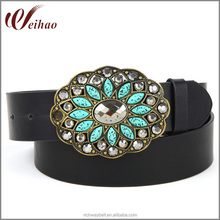 wholesale custom western womens fancy rhinestone belt