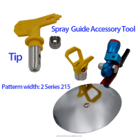 "Universal Spray Guide Accessory Tool For Titan Wagner Graco Paint Sprayer 7/8""NW"