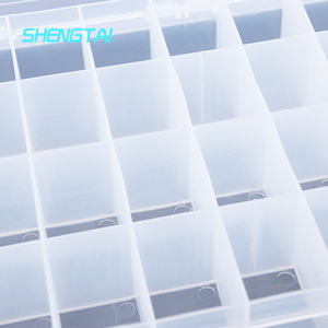 2019 Hot Selling clear plastic box label for hinged lid boxes supplier