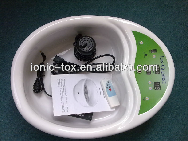 ion spa foot detox with remote control and CE approval WTH-102