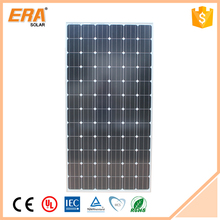 Outdoor rechargeable modern design decoration amorphous silicon solar panel