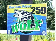 Best sale for coroplast lawn signs / corflute lawn signs