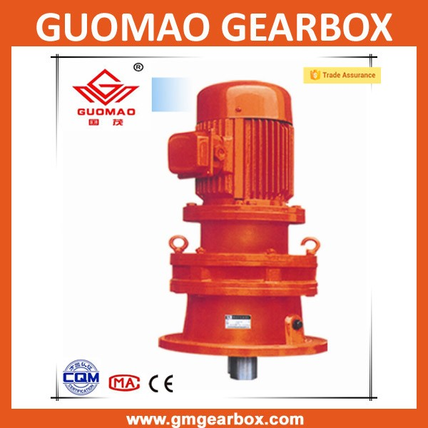 XB High torque Planetary Cycloidal pin wheel Reduction Gearbox for heavy duty concrete mixer