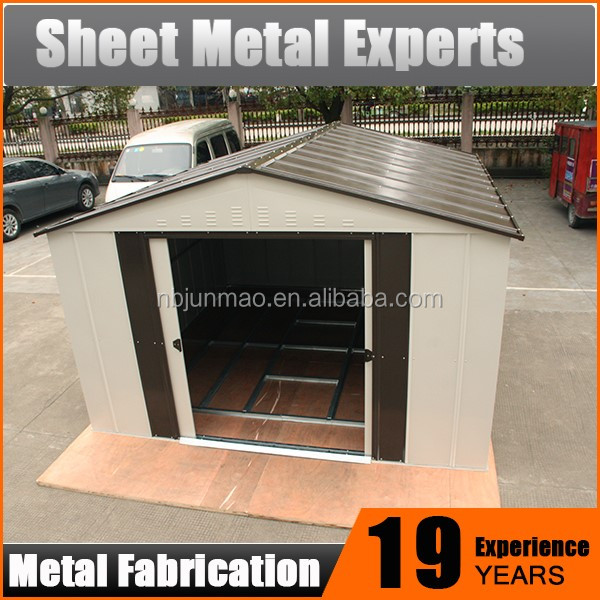 Easy Assembly metal Garden Shed Small Outdoor Prefab House Storage