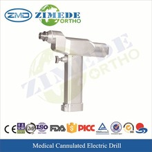 Medical Electric Cannulated Bone drill orthopaedic surgery drill