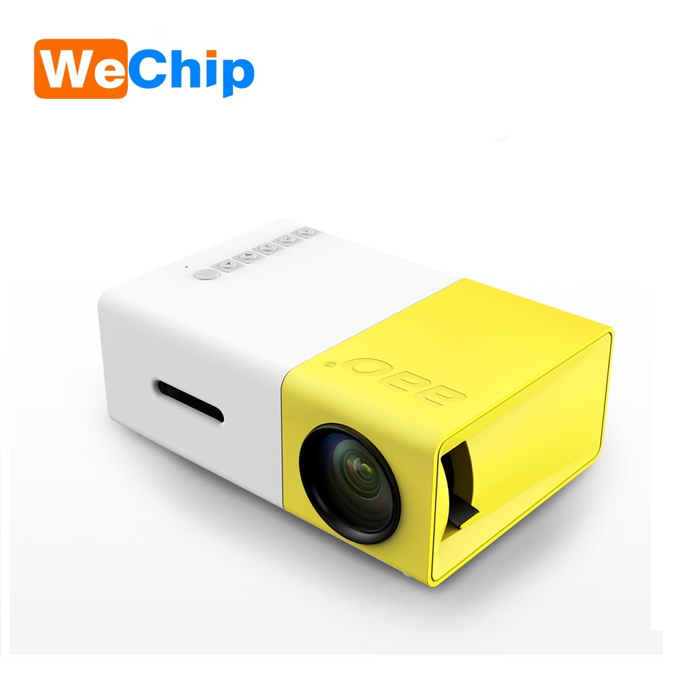Full HD 1080P TFT LCD Mini Projector 400LUM YG300