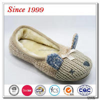 Knit Cat Ballerina Shoes For Women