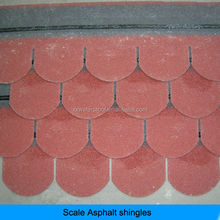 laminated double layer asphalt shingles for roofs