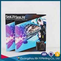 High quality customized English catalogue printing made in China