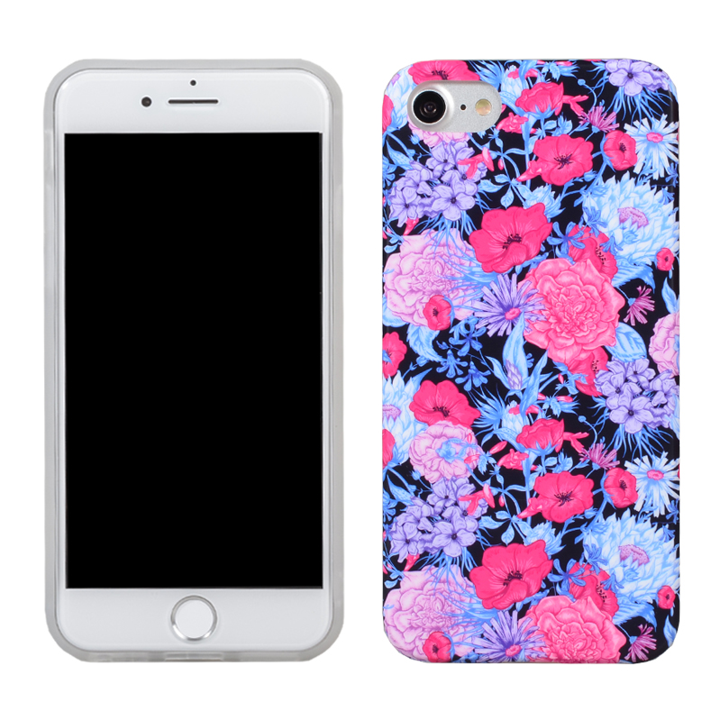New black color stylish 5 inch design mobile phone back cover