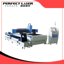 Fiber Laser Cutting Machine for Round Metal Pipe and Sheet Cutting