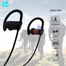 RU9 Fashionable Design Waterproof stereo bluetooth headset we-com smallest bluetooth headset