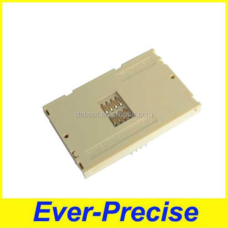 White colour IC card socket