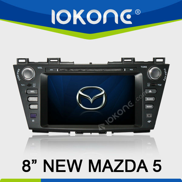 "8"" In Dash Car DVD Player Car Multimedia GPS Navigation System for New Mazda 5"