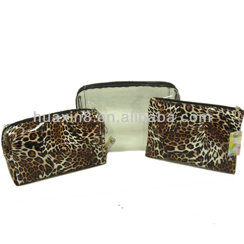 HX1310315 Classical Leopard lady's cosmetic bag