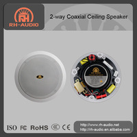 10w/15w/30w Hi-Fi 2-way Coaxial Ceiling Speaker sound system for supermarket