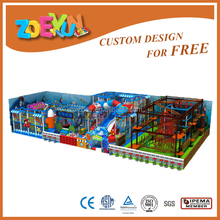 ocean series soft kids playground indoor equipment for school and park