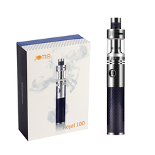 Original JomoTech Electronic Cigarette Kit Royal 100W 1600mAh Built-in 18650 Battery Mod Carbon Fiber Cheap E-cigarette