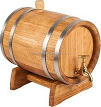 Natural Wooden wine barrel whiskey keg beer barrel