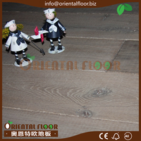 Chinese Factory Price 6Mm Engineered fumed Oak Flooring and Asian Oak Flooring