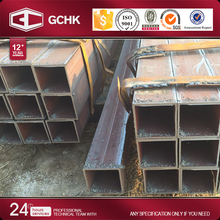 Moderate price thick wall rectangular tubing steel tube erw pipe standard dimensions