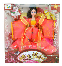 supply 11.5 inch high moveable Chinese princess doll