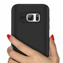 China mobile phone case wholesale,back cover tpu front pc bumblebee carbon fiber phone case for samsung s6 s6 edge.