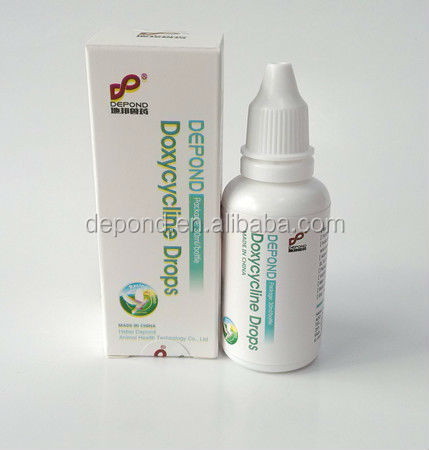 Doxcycline + tylosin tartrate drops for pigeon