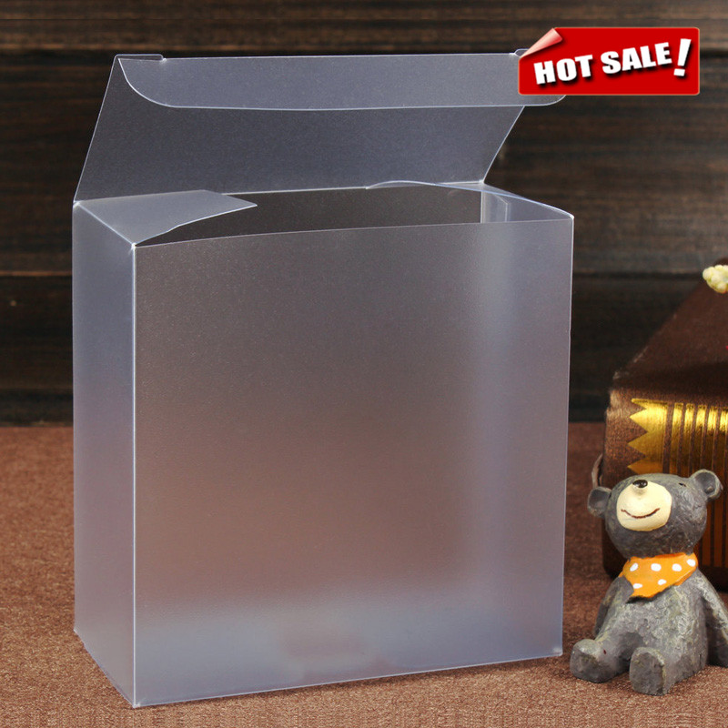 Custom Transparent Clear PVC Plastic Packaging Folding Box
