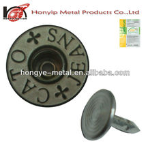 metal button magnetic snap