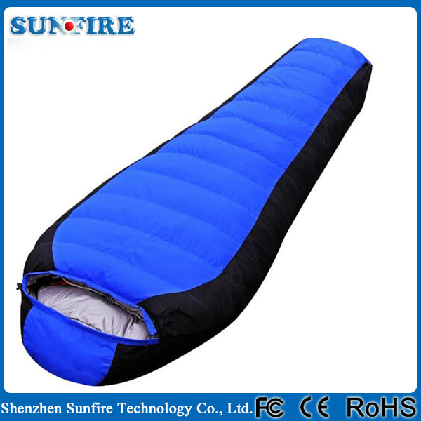 High quality portable outdoor goose down sleeping bag