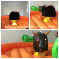 new design Round Inflatable Bull Riding Machine for rental