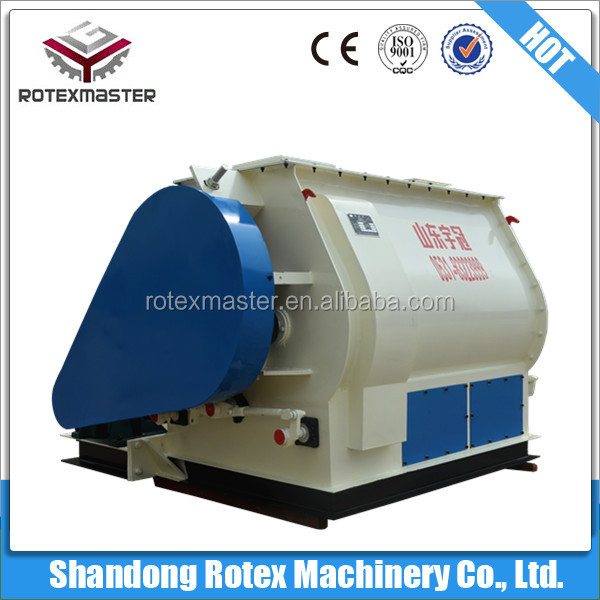 Good after sale service animal feed mixer /mixing machine for feed pelletizing in new year